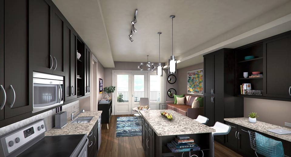 Kitchen at Listing #243994