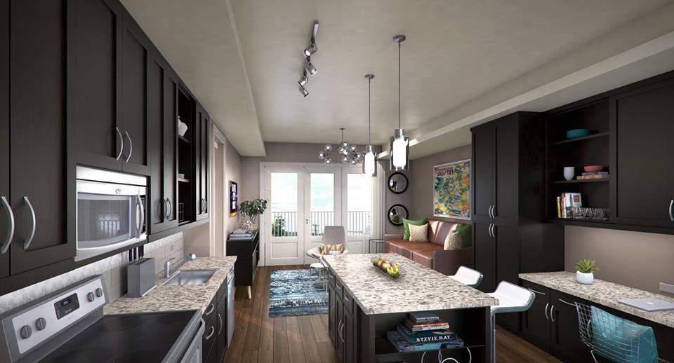 Kitchen at Listing #243994