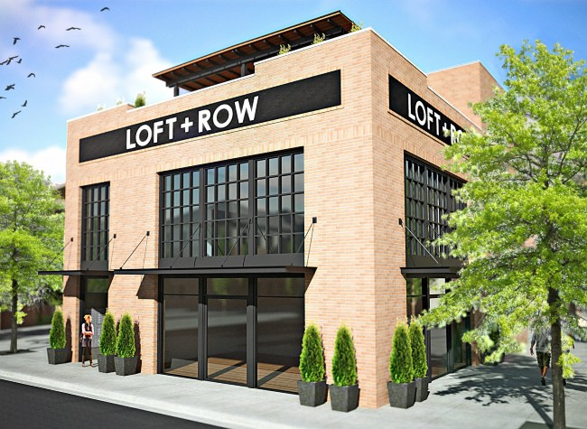 Loft + Row Apartments Dallas, TX