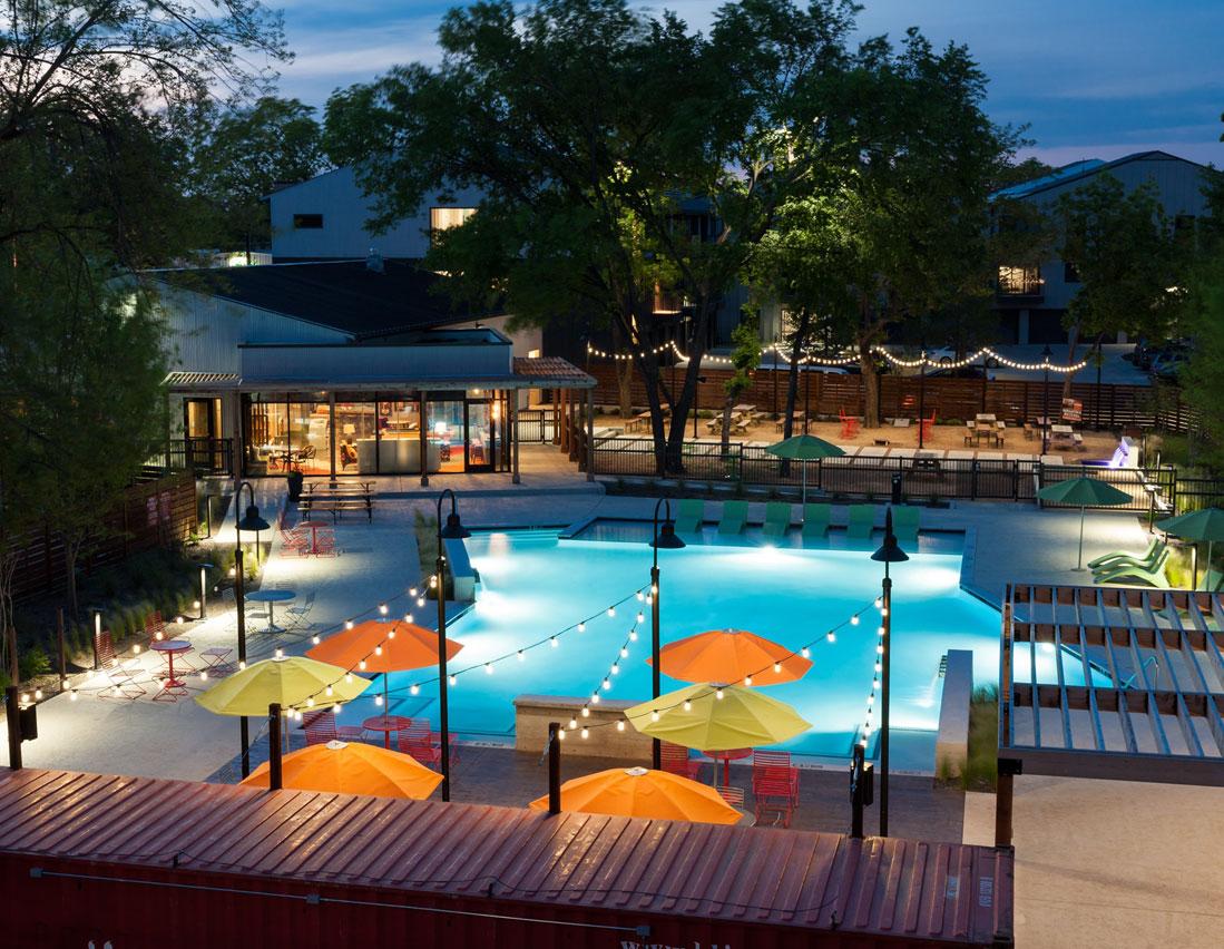 Pool at Listing #240871