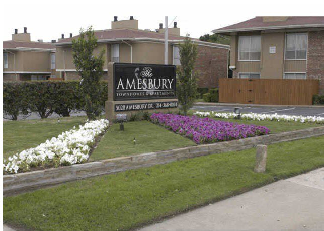 Amesbury Apartments Dallas TX