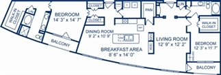 1,996 sq. ft. Tuzla floor plan