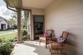 Patio at Listing #153076