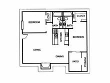 941 sq. ft. F floor plan