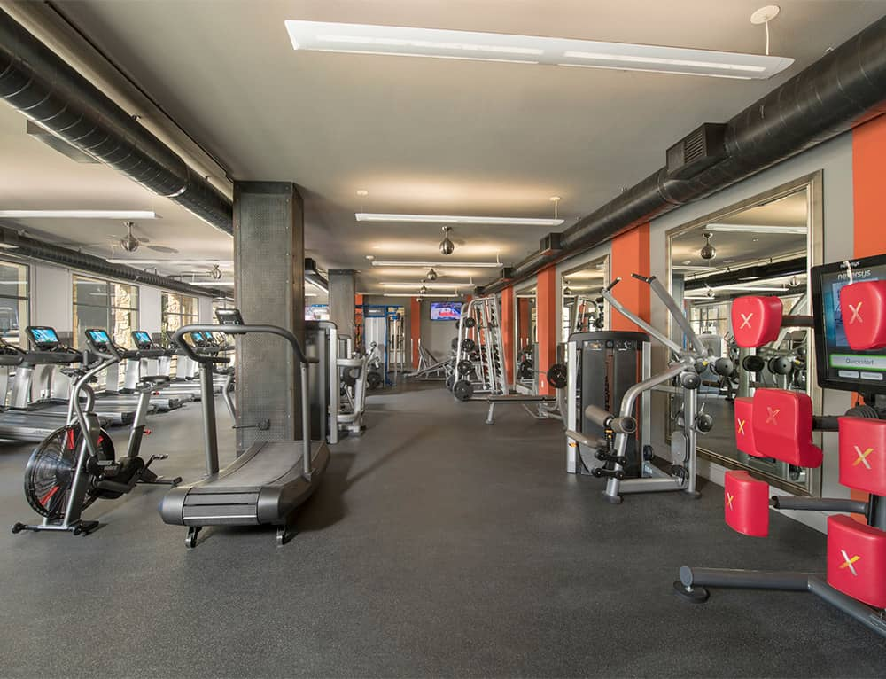 Fitness Center at Listing #144420