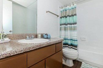 Bathroom at Listing #139497