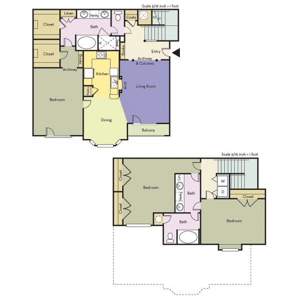 1,774 sq. ft. C2/Blackburn floor plan