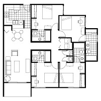 1,433 sq. ft. floor plan