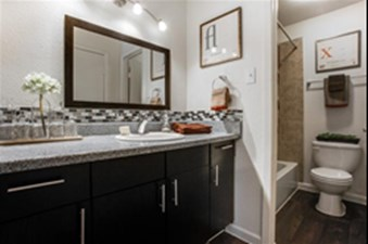 Bathroom at Listing #136240