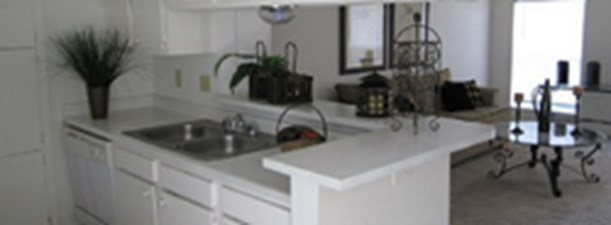Living/Kitchen at Listing #139541
