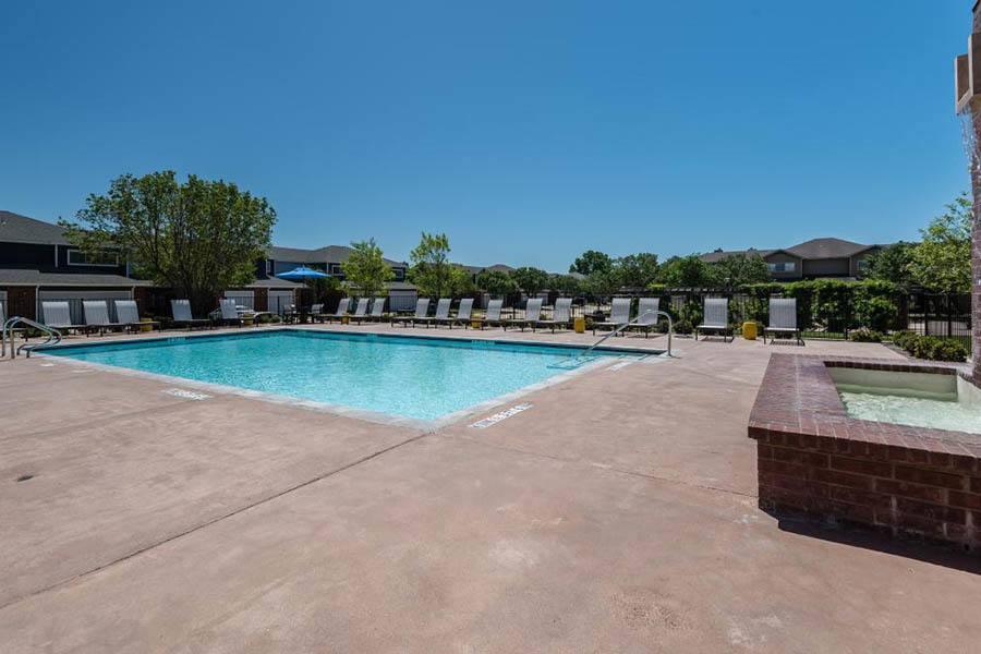 Pool at Listing #137880