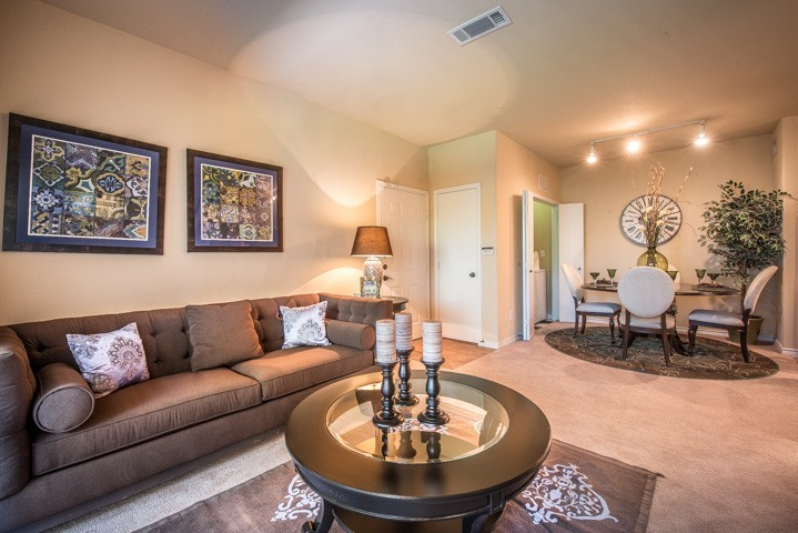 Living/Dining at Listing #144485