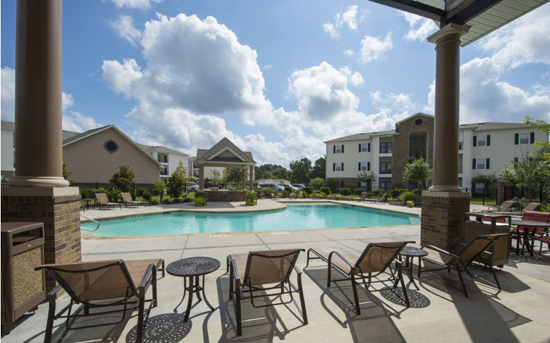 Pool at Listing #228611