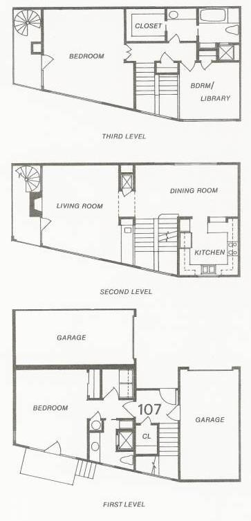 1,466 sq. ft. 108 Try-Level floor plan