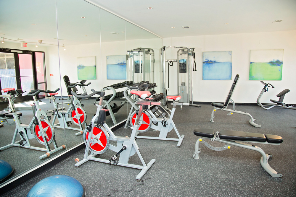 Fitness Center at Listing #136565