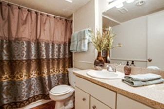 Bathroom at Listing #136446