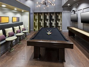 Gameroom at Listing #252378