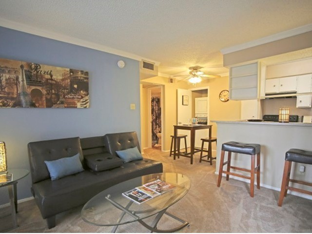 Living/Dining at Listing #136476