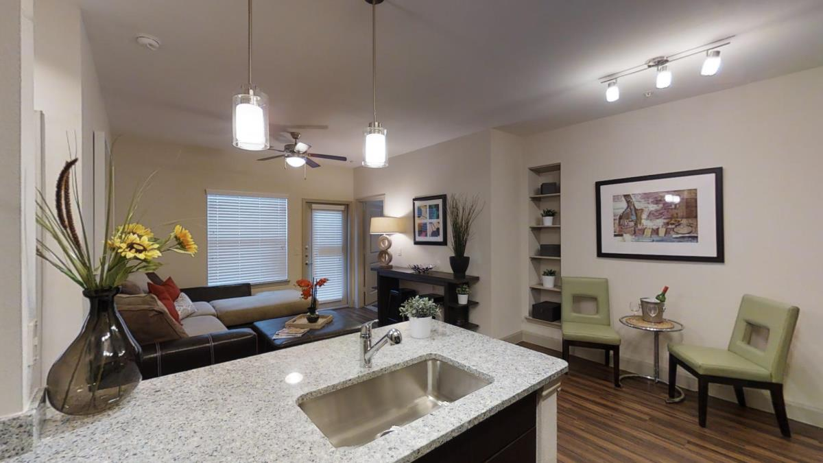 Living/Dining at Listing #292765