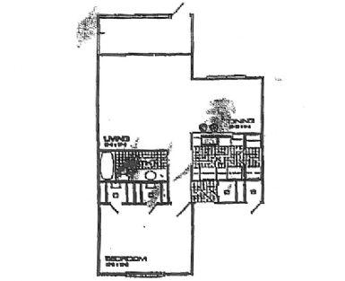 758 sq. ft. floor plan