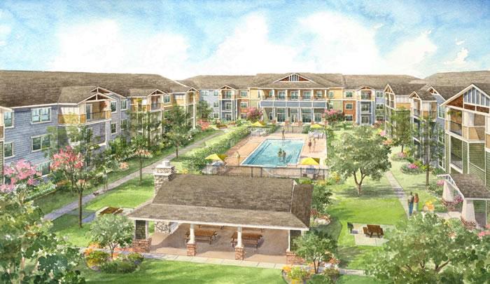 Mariposa at Bay Colony Apartments Dickinson TX