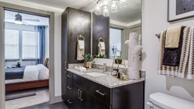 Bathroom at Listing #300021