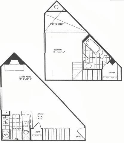 662 sq. ft. floor plan