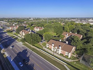 Aerial View at Listing #140539