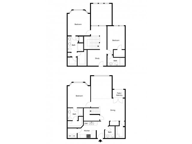 2,516 sq. ft. C2T floor plan