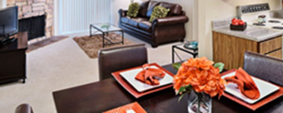 Living/Dining at Listing #140813