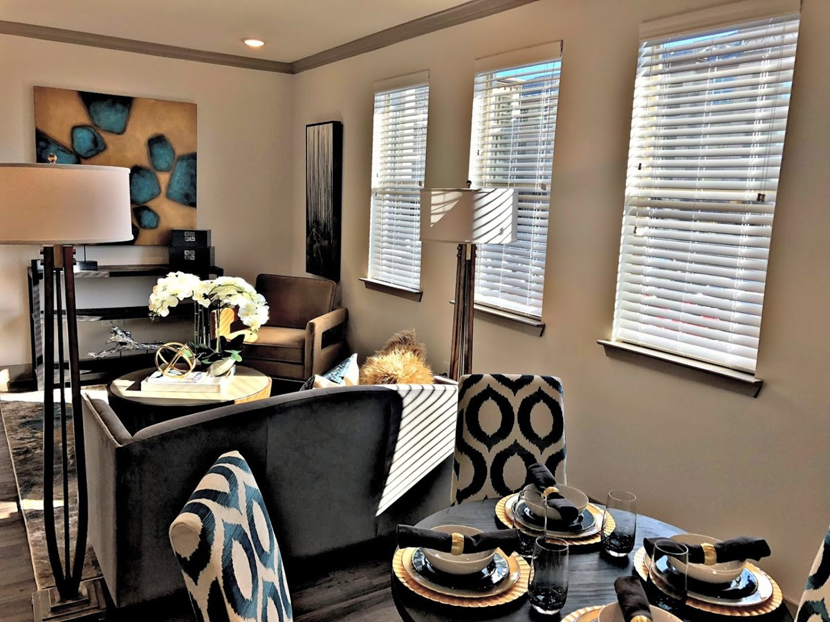 Living/Dining at Listing #292725