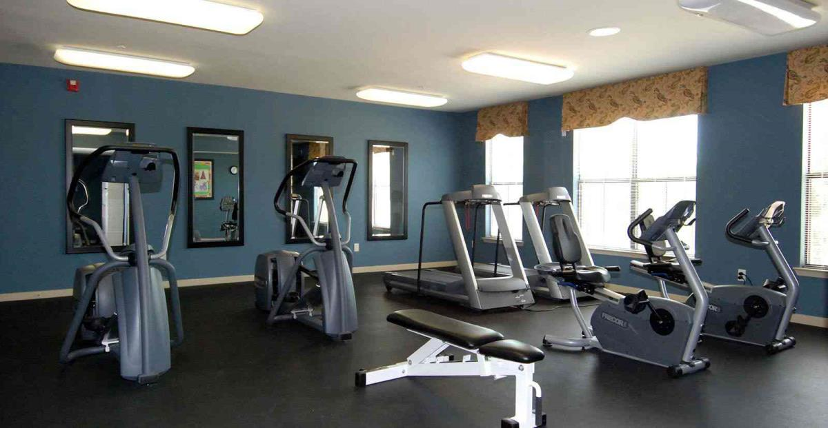 Fitness Center at Listing #144584
