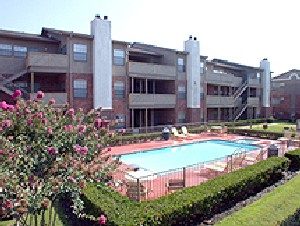 Pool Area at Listing #136096