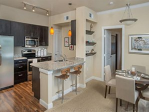 Dining/Kitchen at Listing #240977