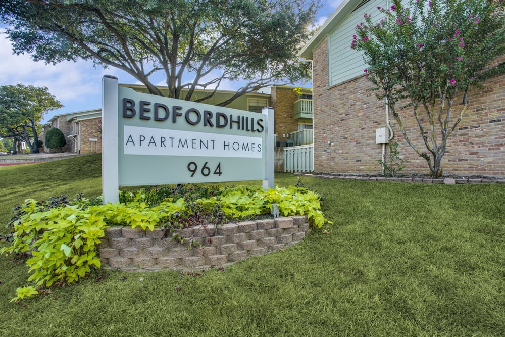 Bedford Hills Apartments Bedford TX