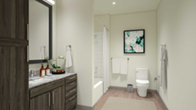 Bathroom at Listing #270549