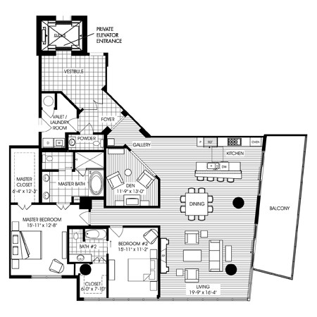2,319 sq. ft. B8 floor plan