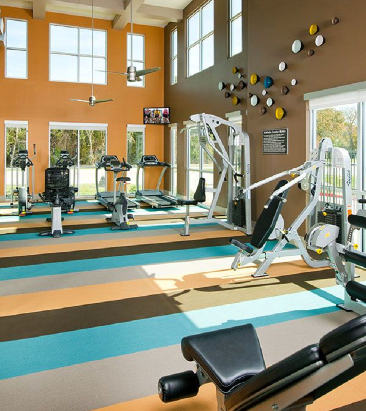 Fitness Center at Listing #154534
