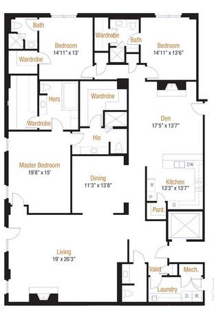 3,240 sq. ft. 31 floor plan