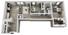974 sq. ft. A floor plan