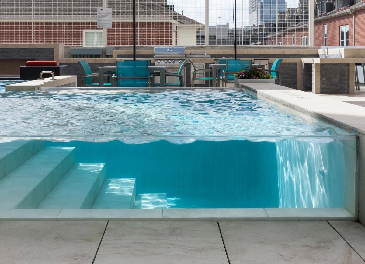 Pool at Listing #282640