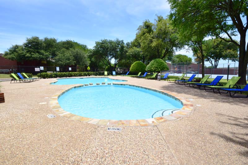 Pool at Listing #136404