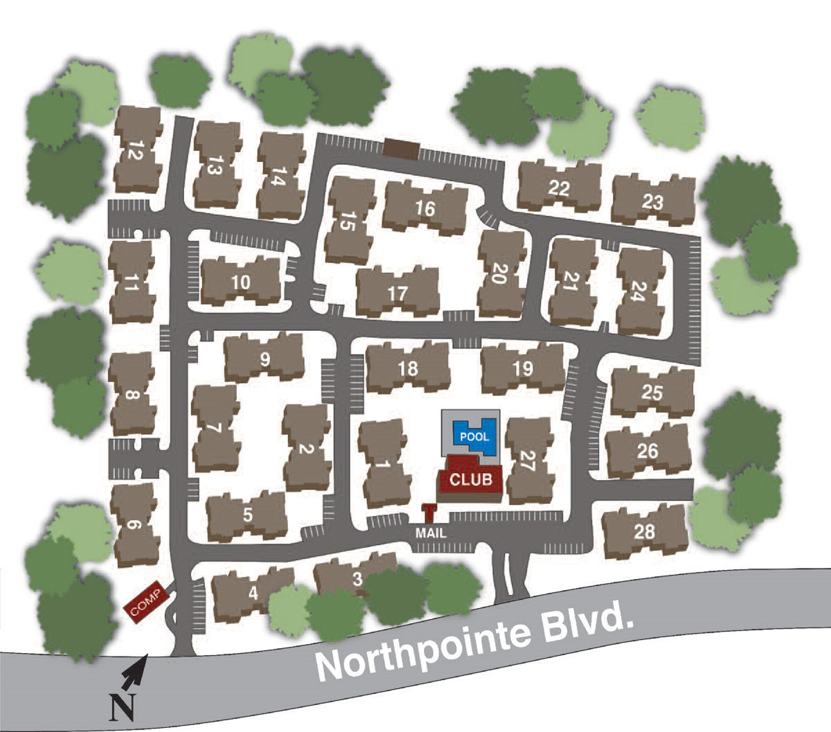 Site Map at Listing #256374
