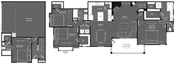 1,910 sq. ft. Cottonwood floor plan
