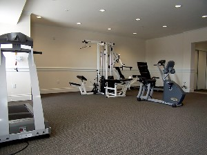 Fitness Center at Listing #144642