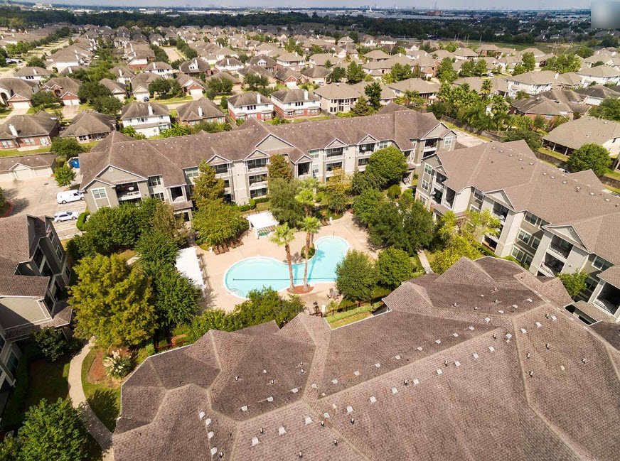 Aerial View at Listing #144218
