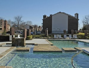 Pool Area at Listing #136729