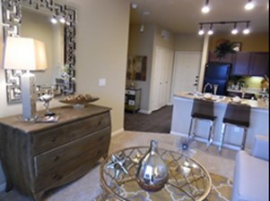 Living/Kitchen at Listing #282335
