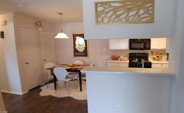 Dining/Kitchen at Listing #141294