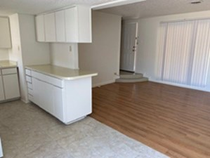 Living/Kitchen at Listing #212426